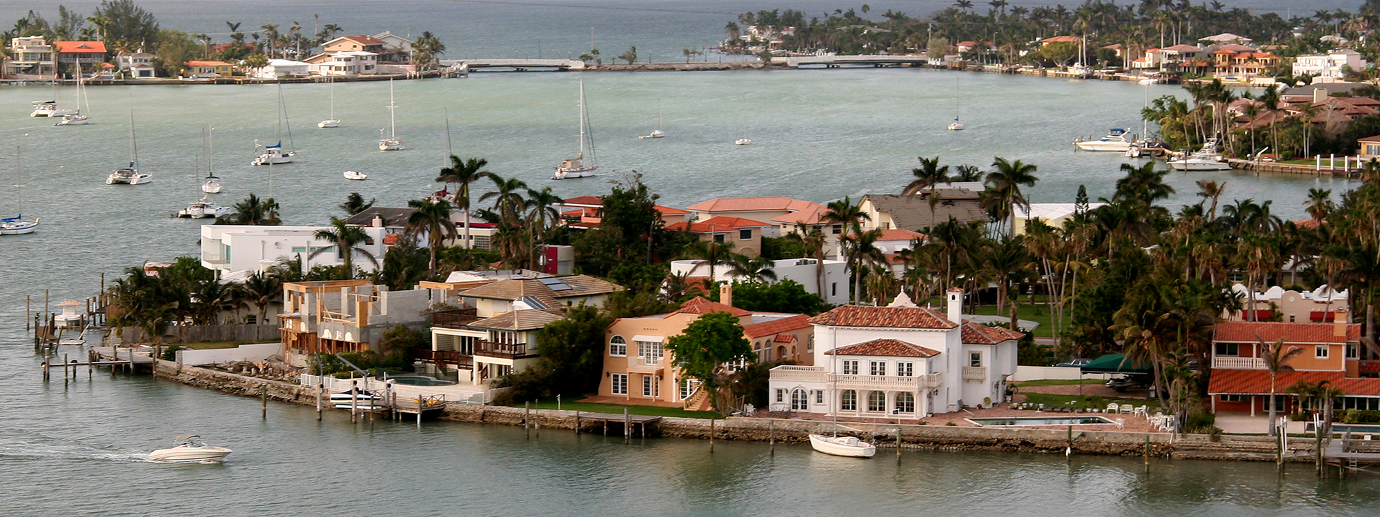 Miami Real Estate waterfront homes