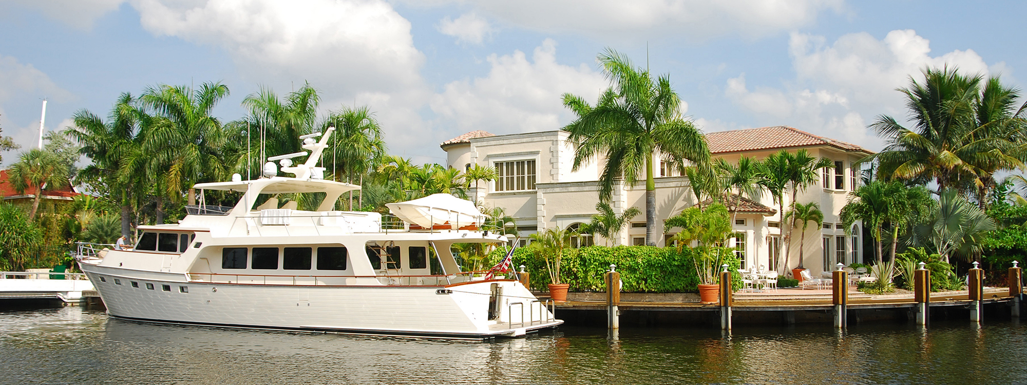 Luxury waterfront home